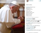Papa Francisco estreia conta no Instagram