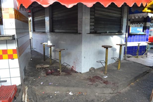 O jovem morreu nas proximidades da Rodoviária Velha/ Foto: Portal A8SE