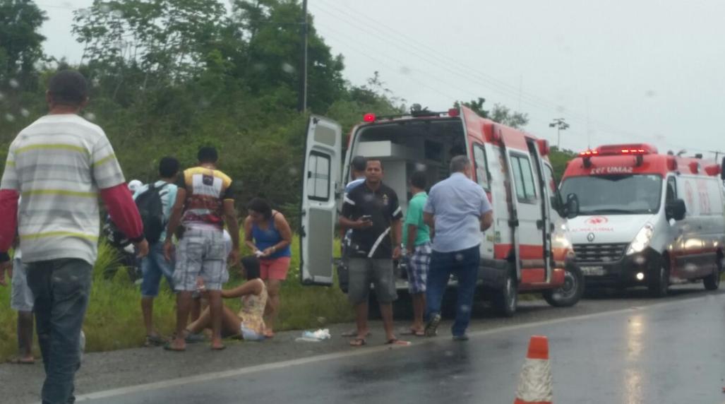 Sergipe – Samu divulga estado de saúde das vítimas de acidente ...