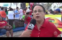 Sergipanos protestam a favor da saída do Michel Temer e das eleições diretas já
