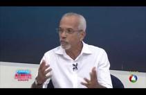 Candidato Edvaldo Nogueira participa de entrevista na TV Atalaia