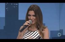 Vina Calmon da Banda Cheiro de Amor fala da festa da corrida TV Atalaia/Plamed