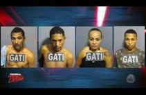 GATI prende suspeitos de tráfico de drogas