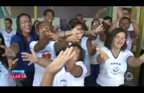 APAE recebe o que foi arrecadado no Carnaval Solidário