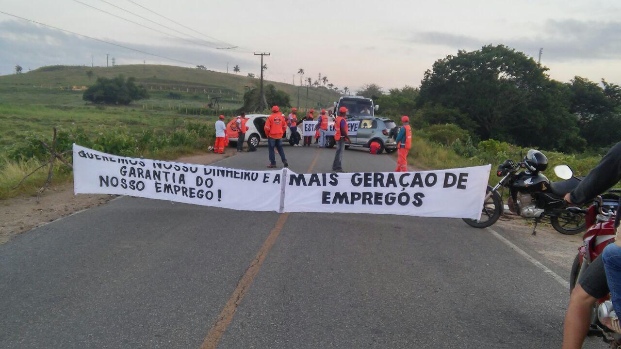 Sergipe – Trabalhadores terceirizados da Petrobras paralisam ...