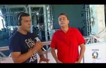 Rogério de Melo conversa com organizador do Fest Verão