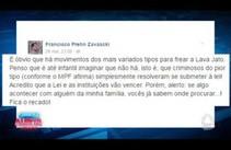 Filho do Ministro do Supremo deixa aviso antes da morte do pai