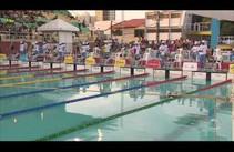 Último dia do Campeonato Brasileiro de Natação Infantil em Aracaju