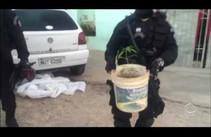 Polícia faz ação para desarticular quadrilha de traficantes de drogas e assaltos