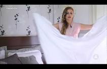 Lar em Dia: aprenda a dobrar lenço de elástico