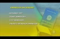 Cresce o número de empregos em Sergipe