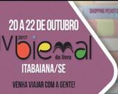 IV Bienal do Livro tem inicio hoje em Itabaiana