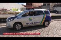 Carro roubado em Itabaiana é encontrado em Aracaju