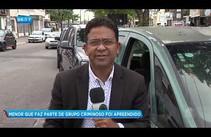 Grupo criminoso grava vídeo dentro de carro roubado