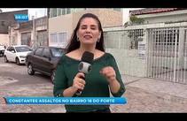 Insegurança: Moradores reclamam dos constantes assaltos no bairro 18 do forte