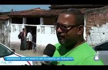 Balanço Geral Sergipe acompanha velório de PM morto em acidente de trânsito