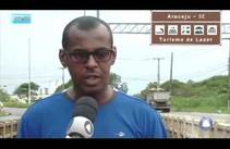 Ciclovia da Avenida Marechal Rondon corre risco de desabar
