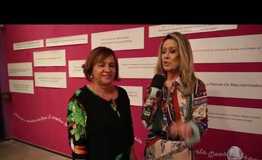 Antônia Amorosa conta tudo sobre a exposição em homenagem a Araripe Coutinho