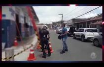 Policia faz operação no Santa Maria para combater roubo de energi