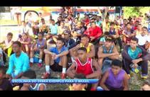 Gilmar Carvalho visita jovens da escolhinha de futebol Zebra