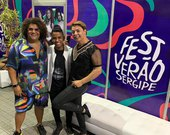 Digital influencer Leó Marques é destaque no Fest Verão