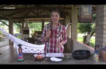 Gastronomia em dia: Tapioca recheada com doce de abóbora e coco
