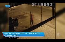 Dupla faz arrastão em lanchonete no Siqueira Campos