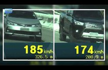 PRF registra mais de 150 veículos acima da velocidade permitida em rodovias