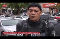 Suspeito de tráfico é preso no Tamandaré