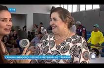 Carminha Mendonça assume a prefeitura de Itabaiana