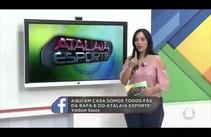Deixe seu recado para o Atalaia Esporte através das redes sociais