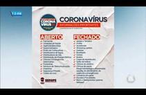 Sergipe suspende alguns serviços como medida de prevenção contra o Covid-19