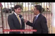 Radialista George Magalhães deixa prisão