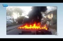Protesto: moradores reivindicam pavimentação de ruas no centro da capital