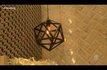 Decoração em Dia: Revestimentos geométricos e em 3D estão em alta