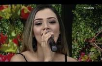 Aline Andriola canta ao vivo no Você Em Dia