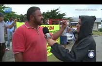 Motoristas e cobradores fazem paralisação de alerta em Aracaju