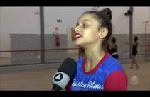 Intercâmbio entre atletas de GR e treinadora da seleção brasileira em Aracaju