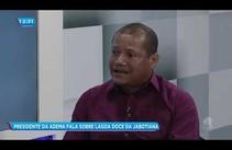 Presidente da Adema fala sobre Lagoa Doce do bairro Jabotiana