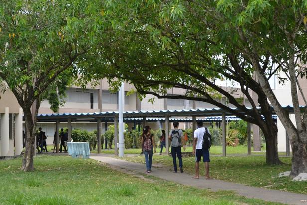 A UFS volta a ter movimentação dos alunos