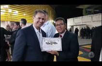 Jornalista Marcos Couto é homenageado em aniversário da Rádio Patrulha