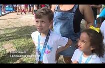 Maratoninha Kids reúne crianças na competição de corrida