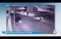 Câmera de segurança registra atropelamento em Carira