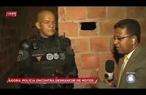 Polícia desarticula quadrilha de desmanche de motos no Moema Meire
