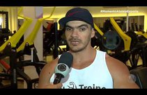 Fisiculturista Adson Vasconcelos conta como começou no esporte