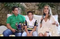 Thaís Bezerra entrevista Guilherme Figueiredo destaque no Kart mundial - Bloco 1
