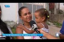 Comunidade reclama da falta de segurança no Santa Cecília
