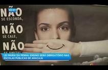 Lei Maria da Penha: ensino será obrigatório nas escolas públicas de Aracaju