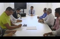 Vereadores e Gilmar Carvalho discutem futuro de trabalhadores da Petrobrás com MT