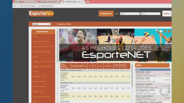 Site aposta esportiva